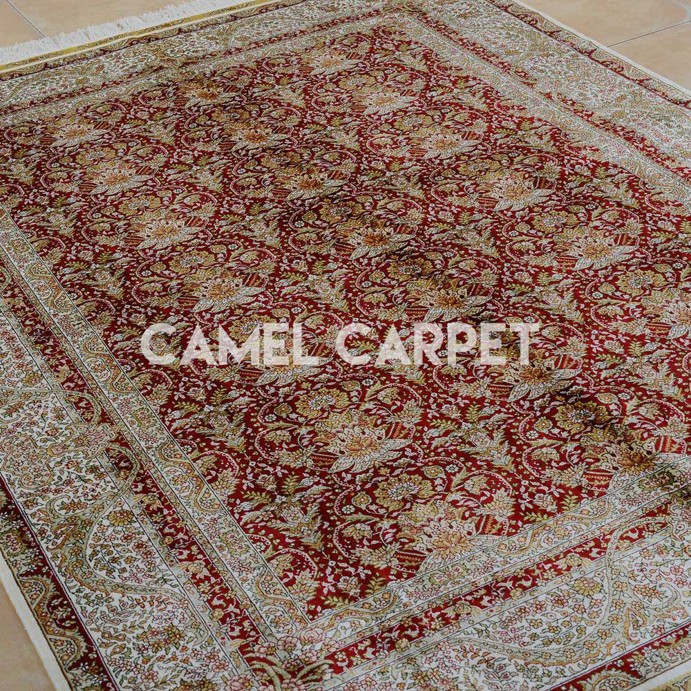 l1951a silk handwoven 5x7 area rugs cheap
