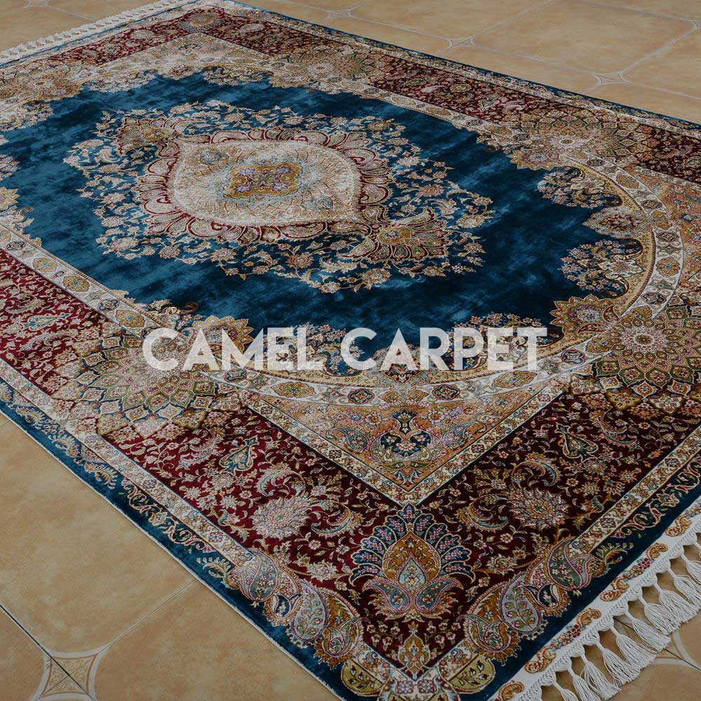 gb1639a high quality silk hand knotted rugs for sale